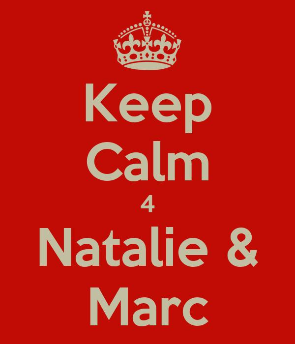Keep Calm 4 Natalie & Marc