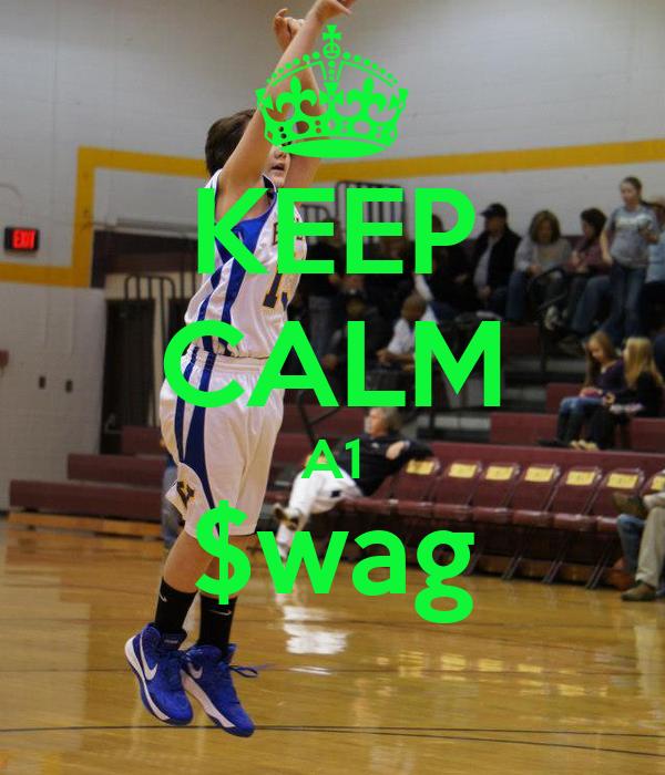 KEEP CALM A1 $wag