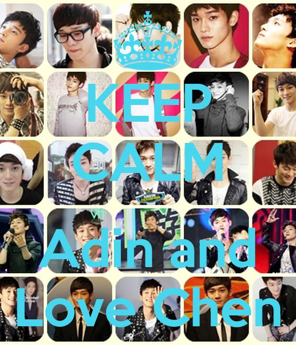 KEEP CALM  Adin and Love Chen