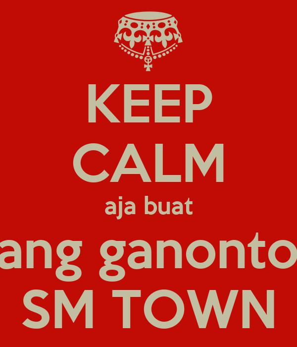 KEEP CALM aja buat yang ganonton SM TOWN