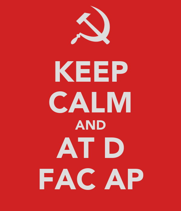 KEEP CALM AND ŞAT DĂ FAC AP