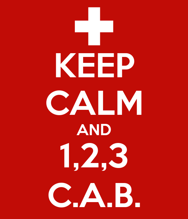 KEEP CALM AND 1,2,3 C.A.B.