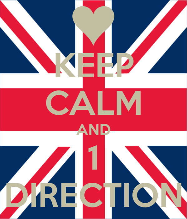 KEEP CALM AND 1 DIRECTION