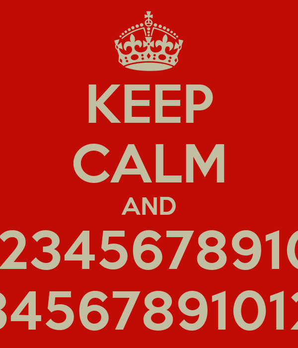 Printables 12345678910 keep calm and 12345678910 123456789101213 poster pino 123456789101213