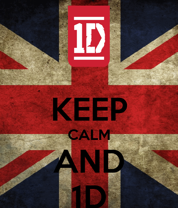 KEEP CALM AND 1D
