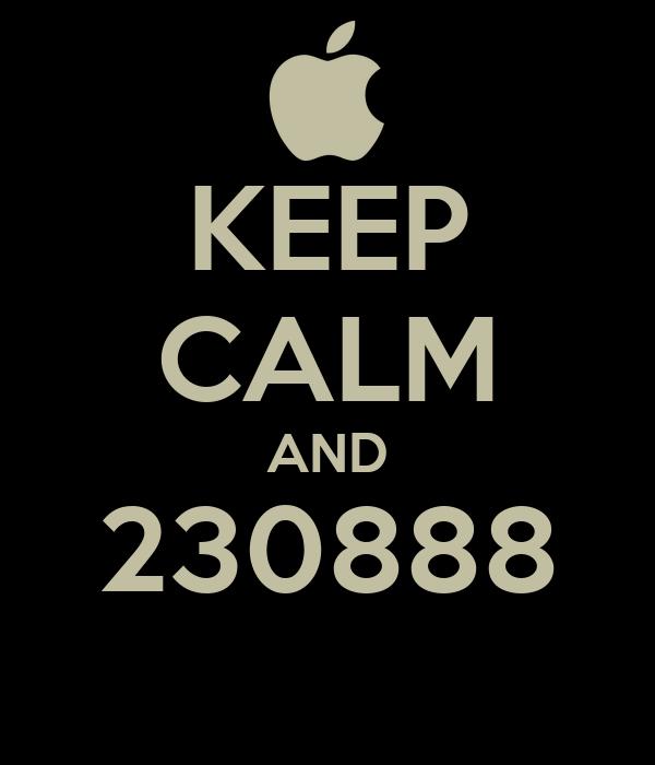 KEEP CALM AND 230888