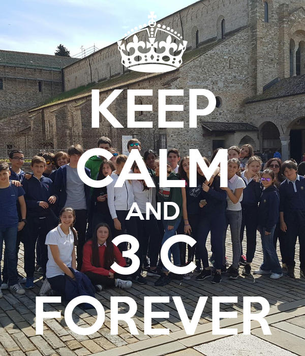 KEEP CALM AND 3 C FOREVER