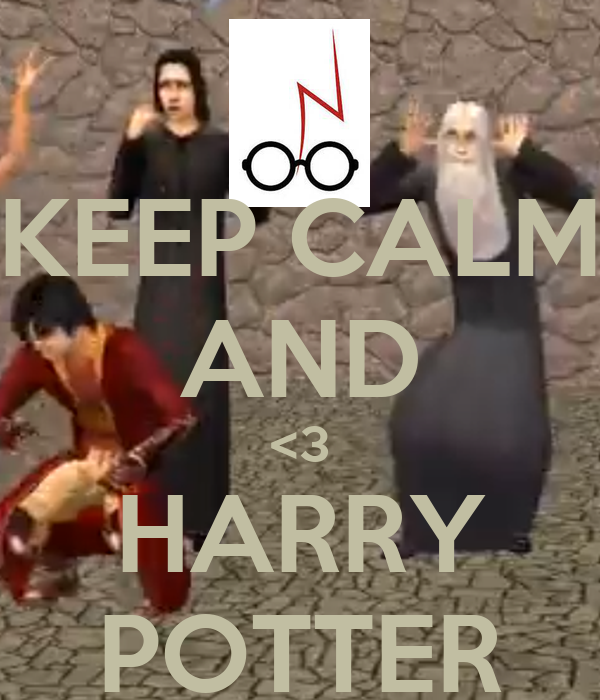 KEEP CALM AND <3 HARRY POTTER
