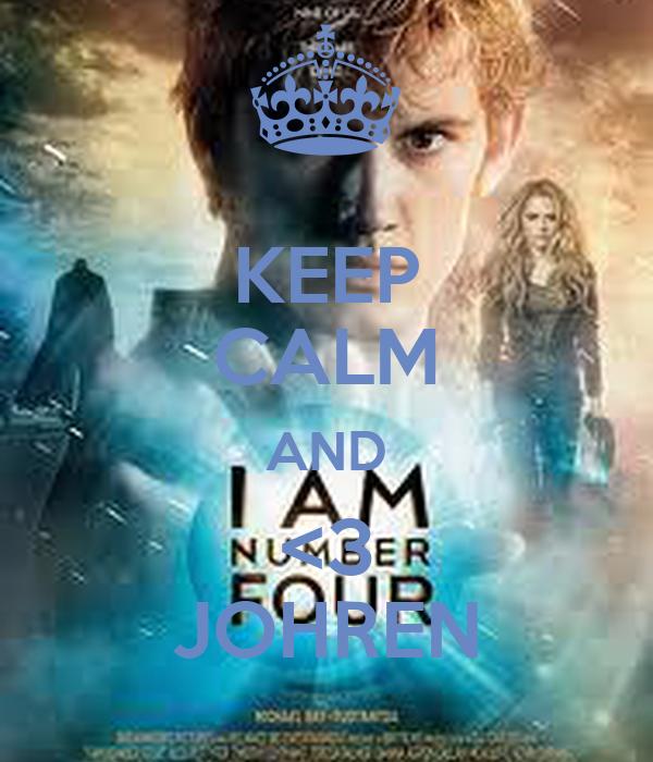 KEEP CALM AND <3 JOHREN