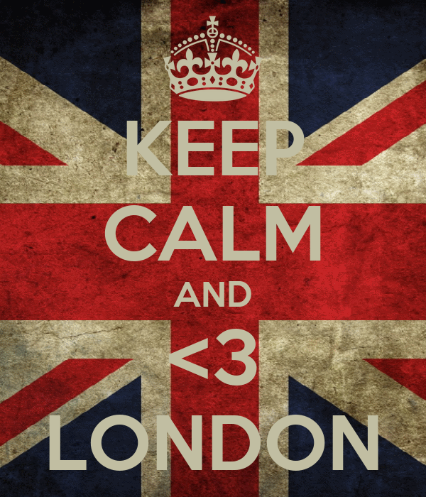 KEEP CALM AND <3 LONDON
