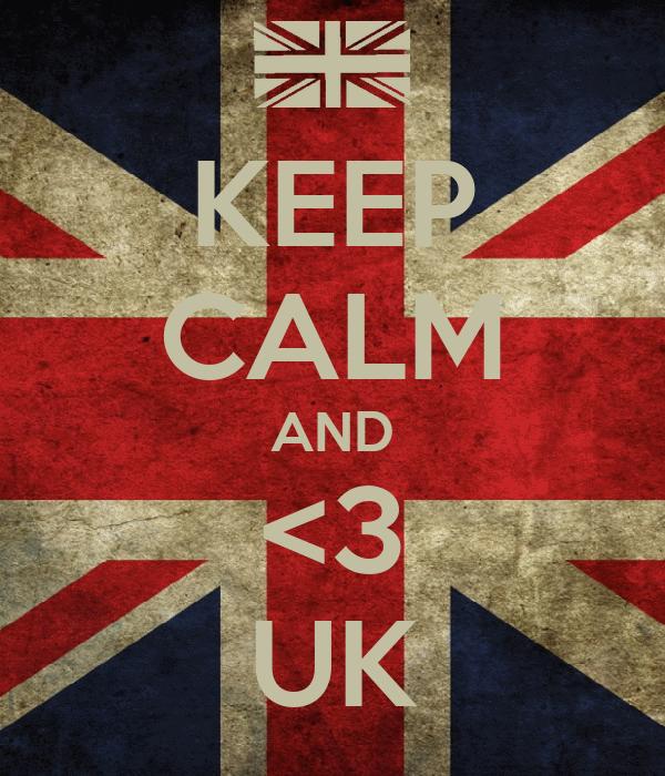KEEP CALM AND <3 UK