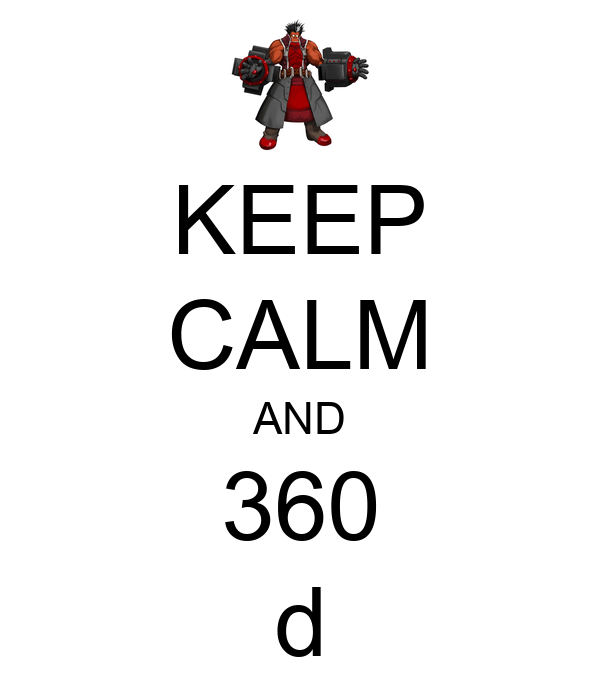 KEEP CALM AND  360  d