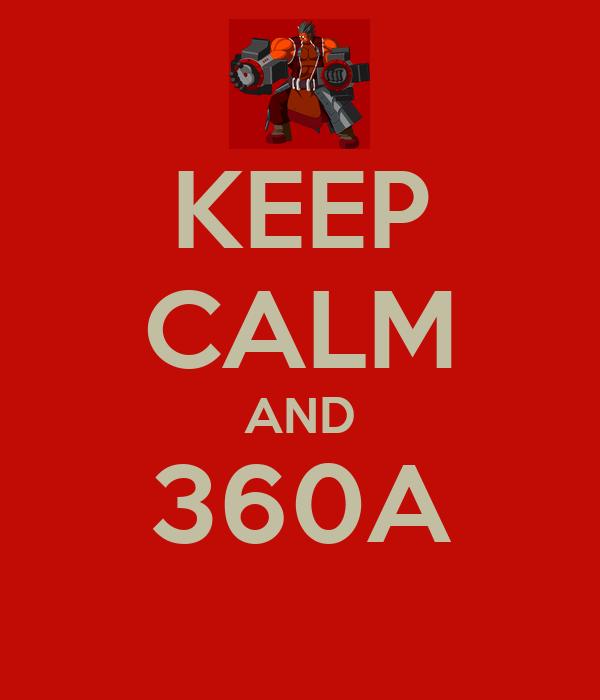 KEEP CALM AND 360A