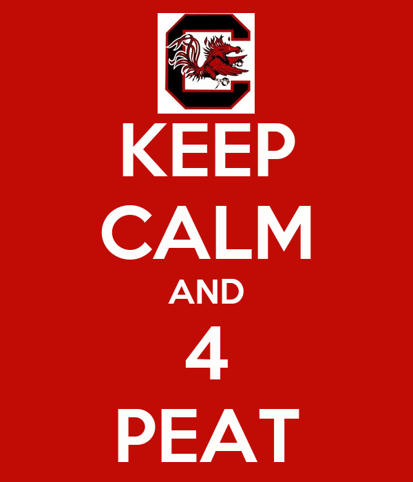 KEEP CALM AND 4 PEAT
