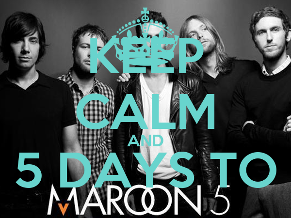 KEEP CALM AND 5 DAYS TO