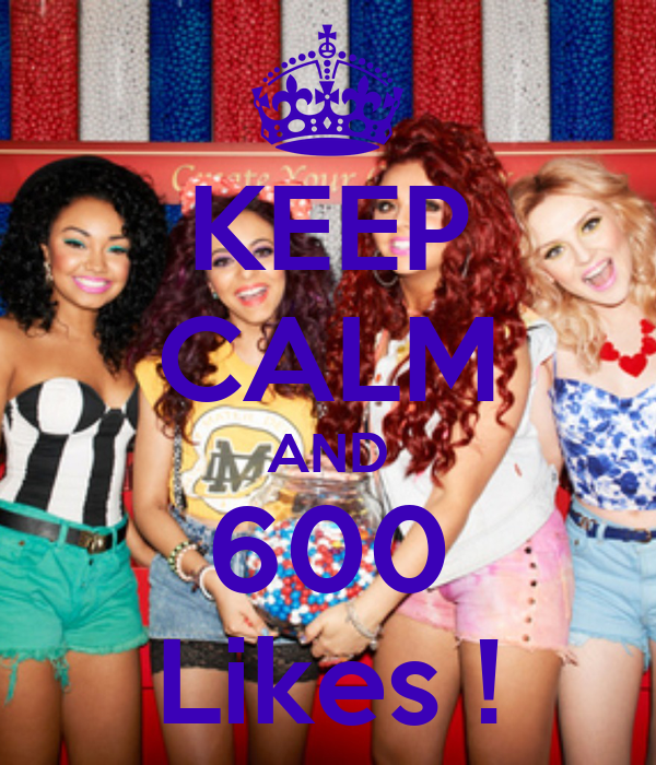 KEEP CALM AND 600 Likes !