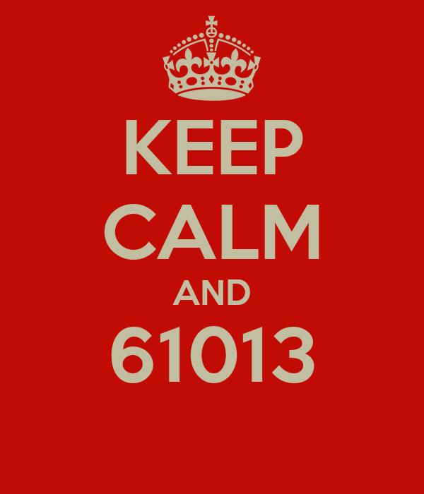 KEEP CALM AND 61013