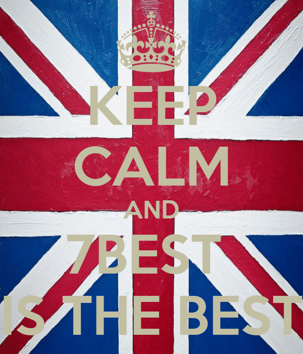 KEEP CALM AND 7BEST  IS THE BEST