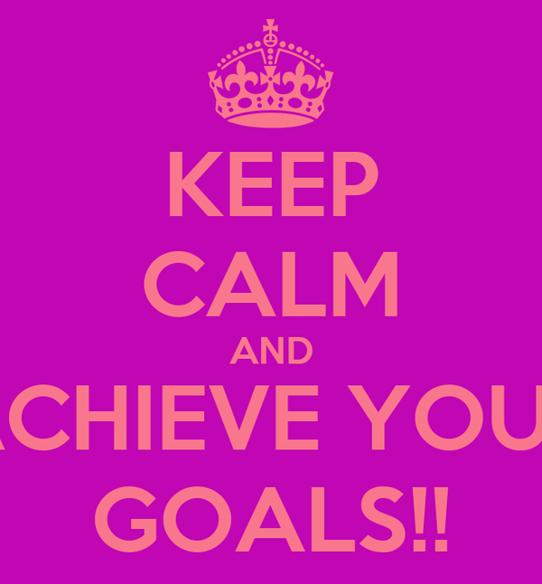 how to achieve your goals pdf