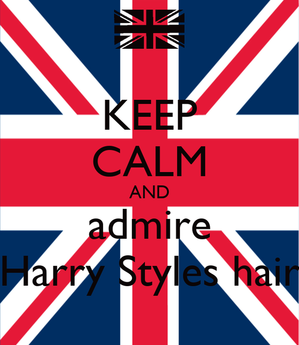 KEEP CALM AND admire Harry Styles hair