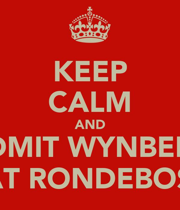 KEEP CALM AND ADMIT WYNBERG BEAT RONDEBOSCH