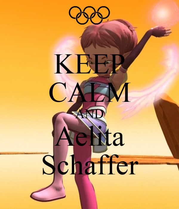 KEEP CALM AND Aelita Schaffer