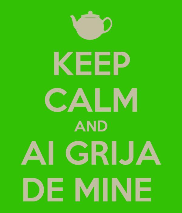KEEP CALM AND AI GRIJA DE MINE