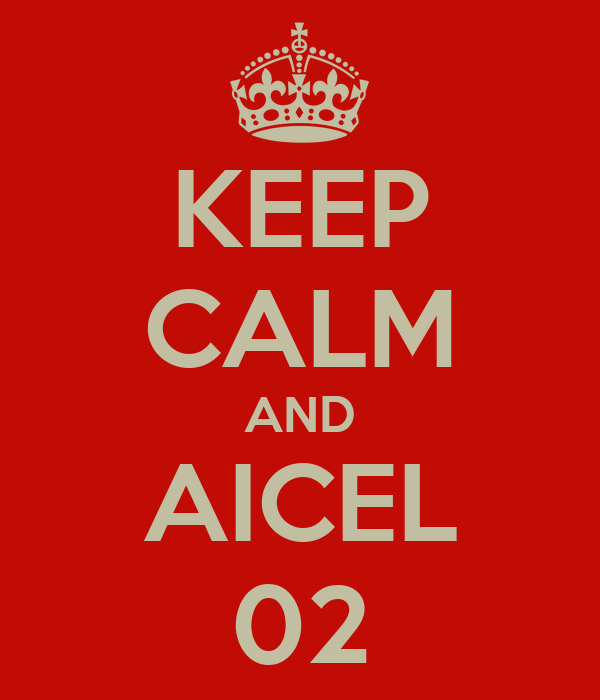 KEEP CALM AND AICEL 02