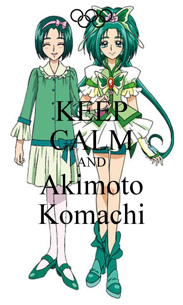 KEEP CALM AND Akimoto Komachi