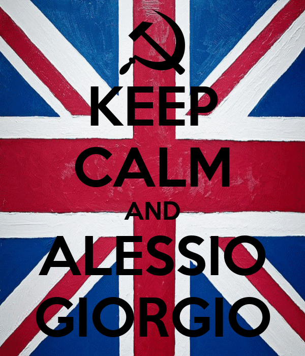 KEEP CALM AND ALESSIO GIORGIO