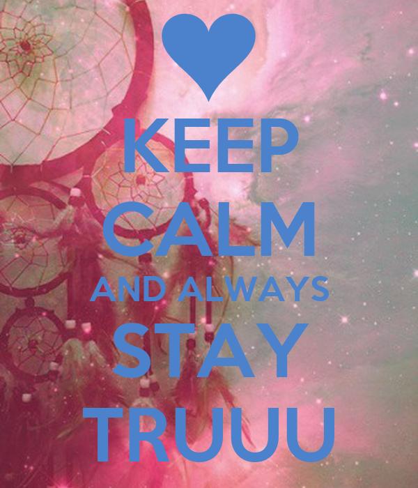 how to keep calm always