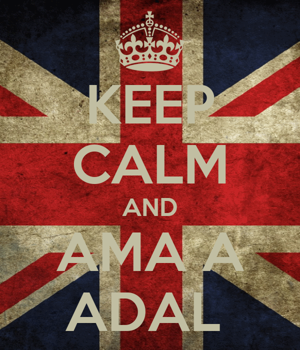 KEEP CALM AND AMA A ADAL