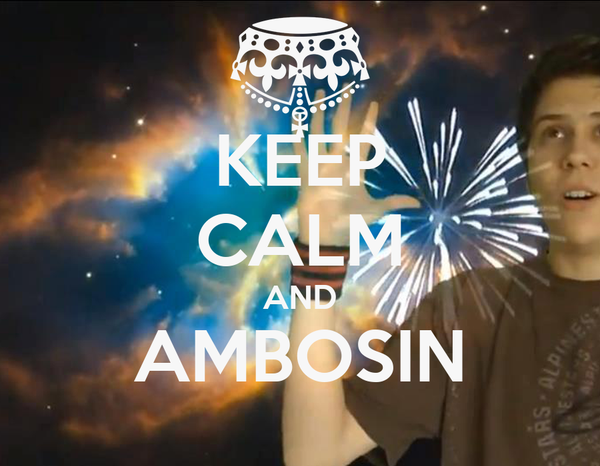 KEEP CALM AND AMBOSIN