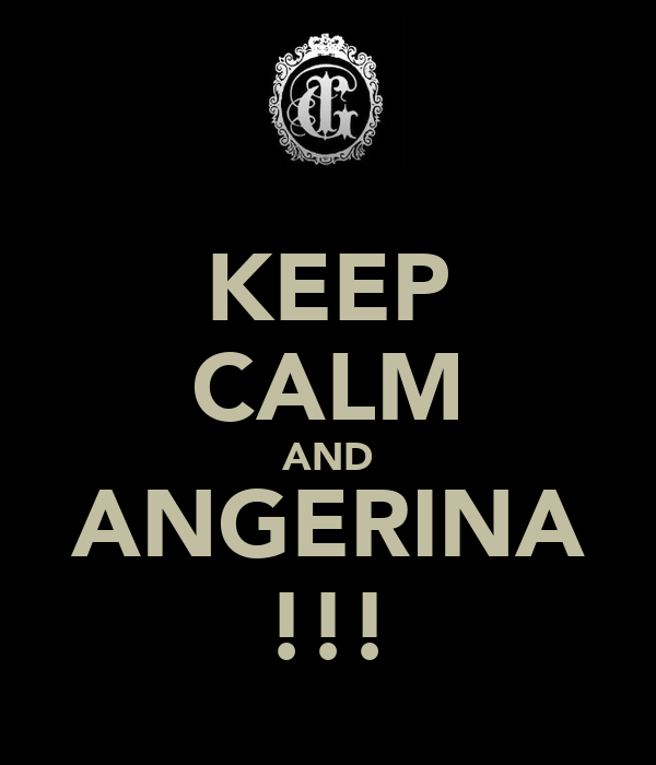 KEEP CALM AND ANGERINA !!!