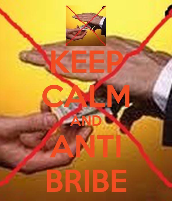 KEEP CALM AND ANTI BRIBE