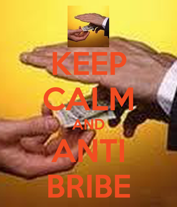 KEEP CALM AND ANTI BRIBE