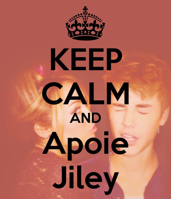 KEEP CALM AND Apoie Jiley
