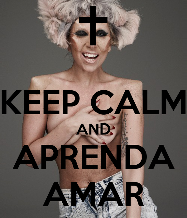 KEEP CALM AND APRENDA AMAR