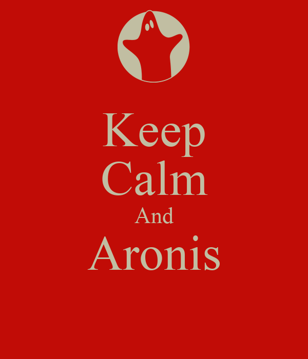 Keep Calm And Aronis