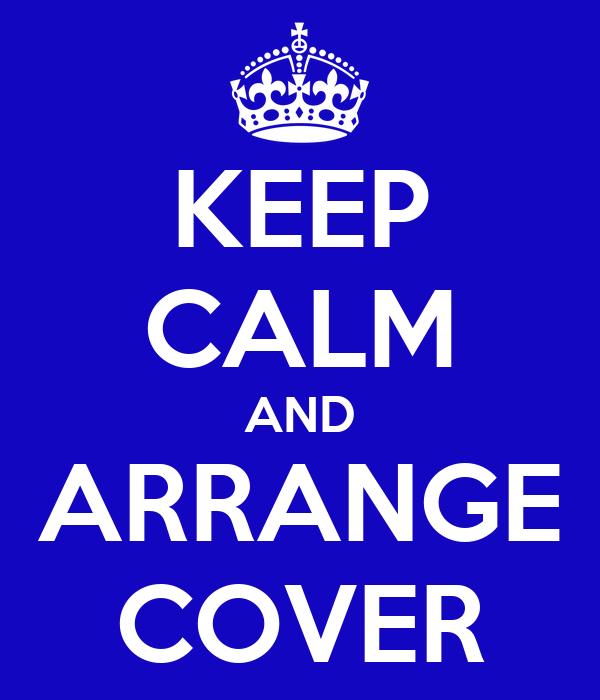 KEEP CALM AND ARRANGE COVER