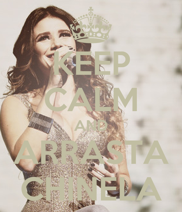 KEEP CALM AND ARRASTA CHINELA