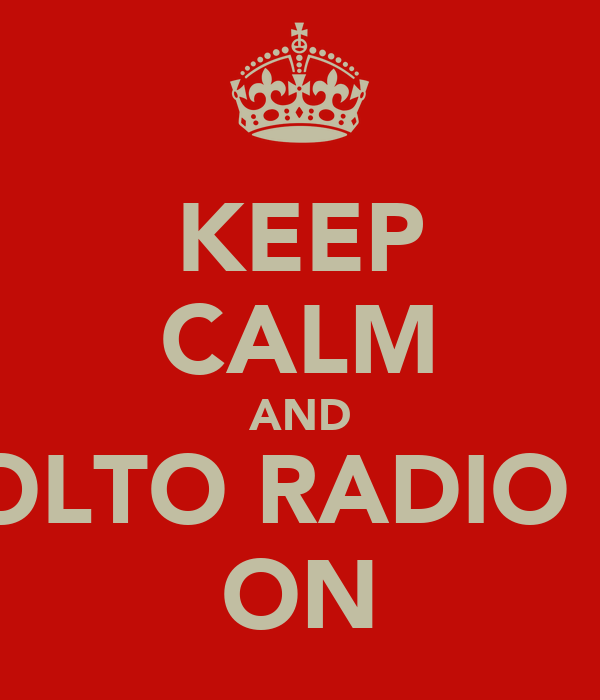 KEEP CALM AND ASCOLTO RADIO LODI ON