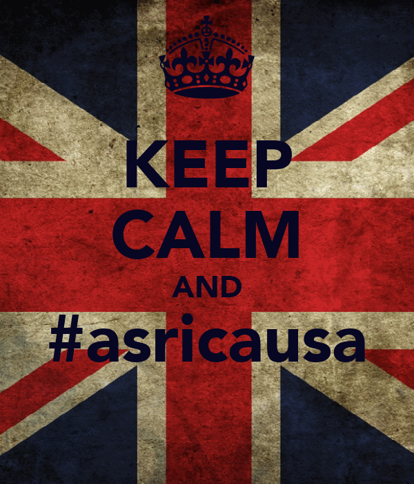 KEEP CALM AND #asricausa