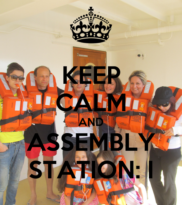 KEEP CALM AND ASSEMBLY STATION: I