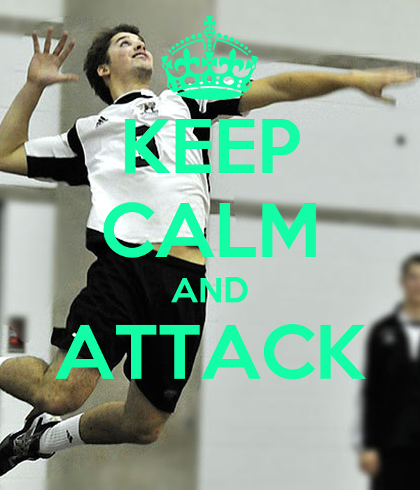 KEEP CALM AND ATTACK