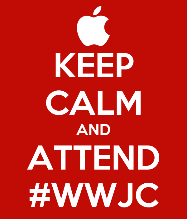 KEEP CALM AND ATTEND #WWJC
