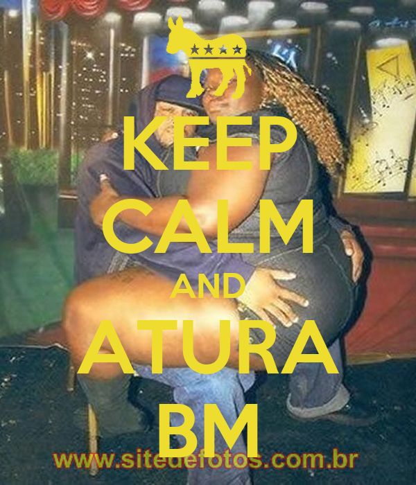 KEEP CALM AND ATURA BM