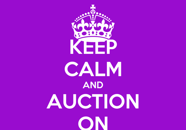 KEEP CALM AND AUCTION ON