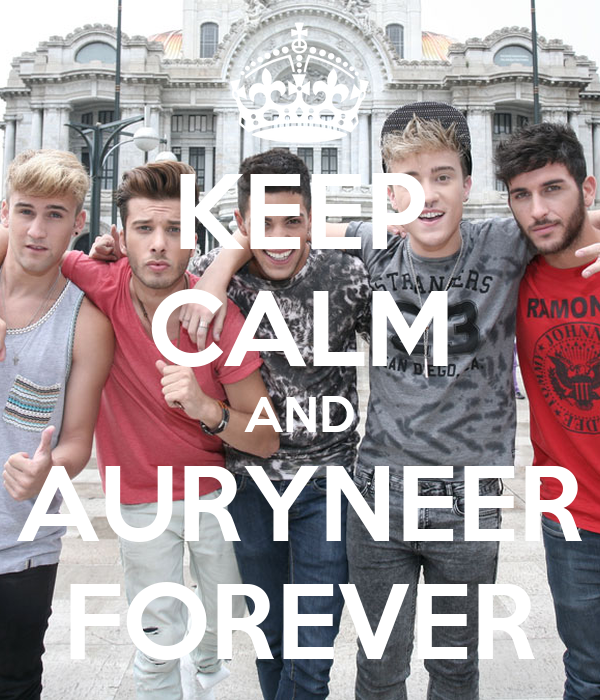 KEEP CALM AND AURYNEER FOREVER
