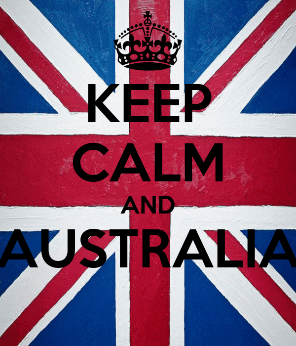 KEEP CALM AND AUSTRALIA